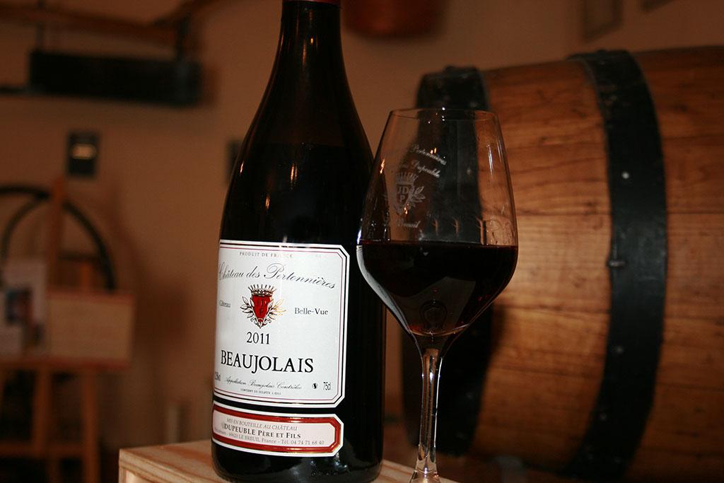 beaujolais rouge - coteau belle vue