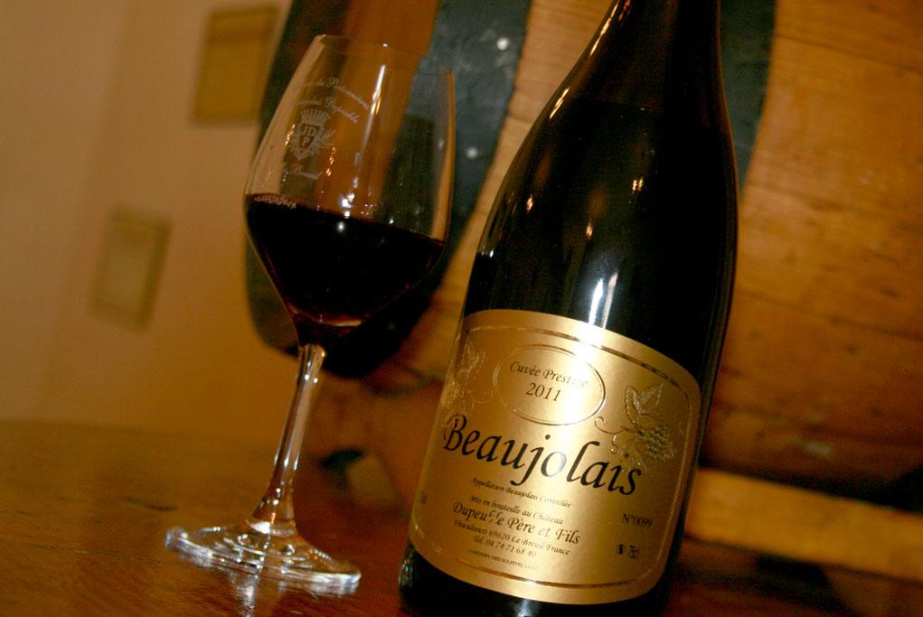 beaujolais rouge cuvée prestige 2007