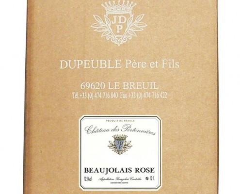 beaujolais rosé en cubi