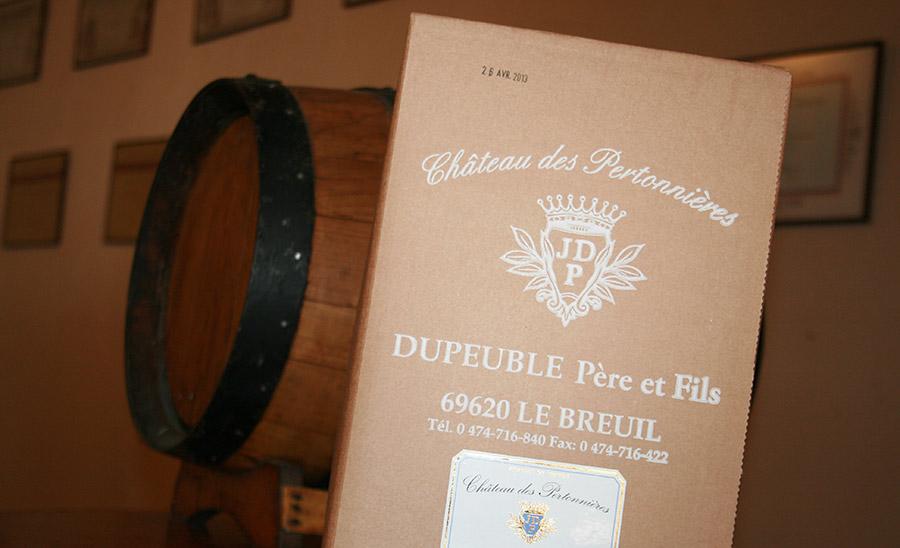 Beaujolais Rosé en cubi beaujolais dupeuble