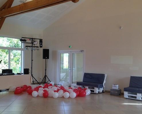 Salle de réception beaujolais fiançailles