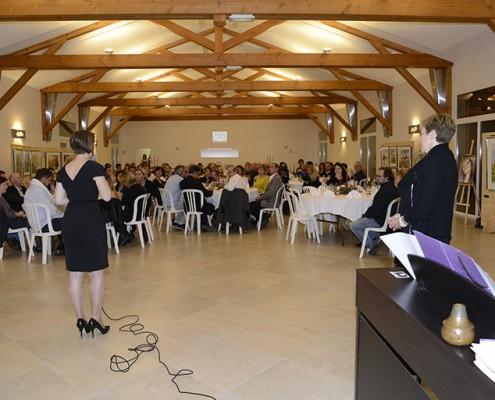 Salle de réception beaujolais dupeuble seminaire
