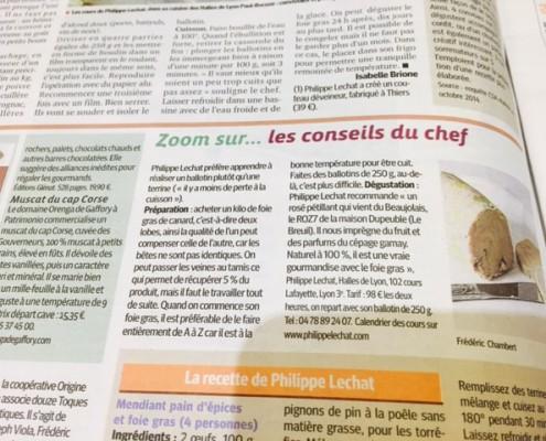 beaujolais et foie gras