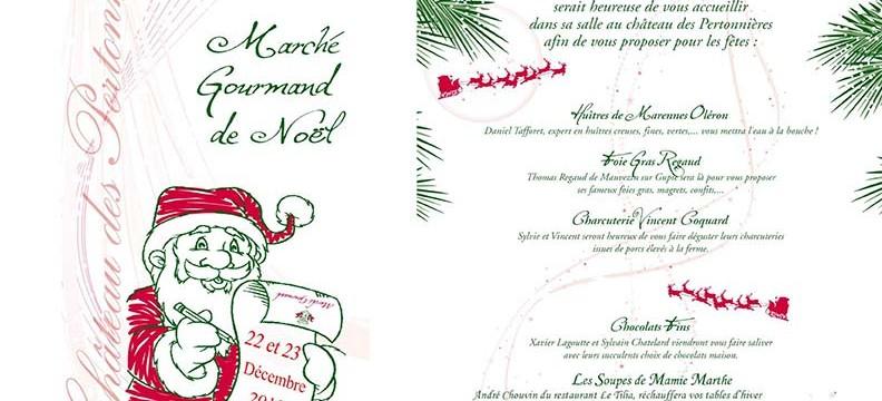 Marche gourmand de noël beaujolais 2018