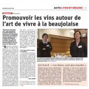 """""""Bienvenus en Beaujonomie"""" nouvel événement oeno-bistronomique"""