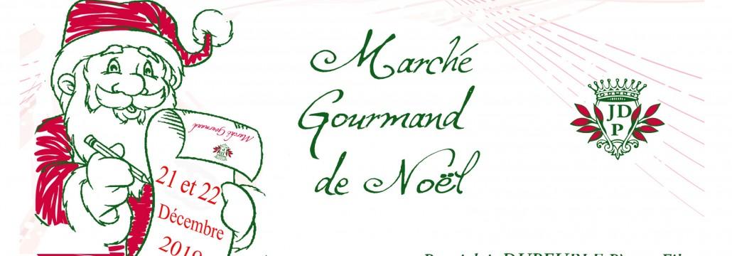 baniere marche gourmand noel beaujolais dupeuble chateau des pertonnieres